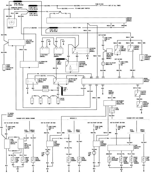 small resolution of 1986 ford f150 radio wiring diagram
