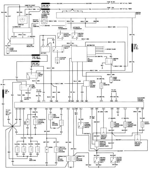 small resolution of 1987 ford f150 wiring diagram free wiring diagram rh ricardolevinsmorales com 1987 ford ranger fuel system diagram 1987 ford bronco schematics