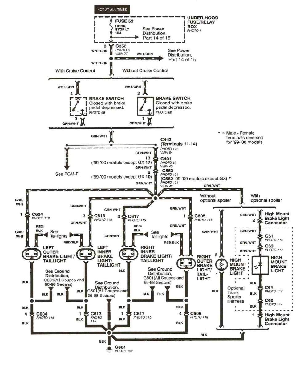 medium resolution of  1991 honda crx stereo wiring diagram 1991 honda civic electrical wiring diagram and schematics
