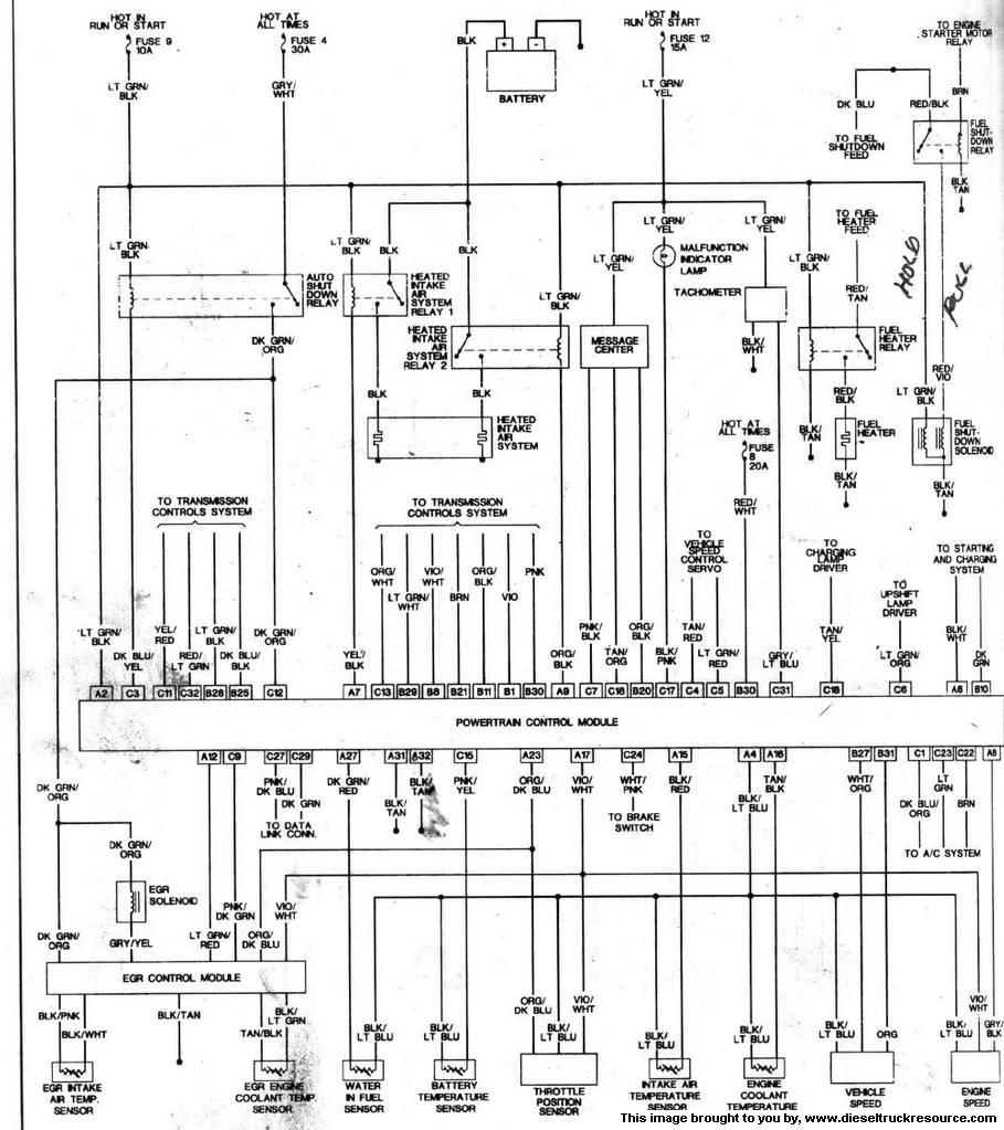 1993 DODGE D350 WIRING DIAGRAM - Auto Electrical Wiring Diagram on