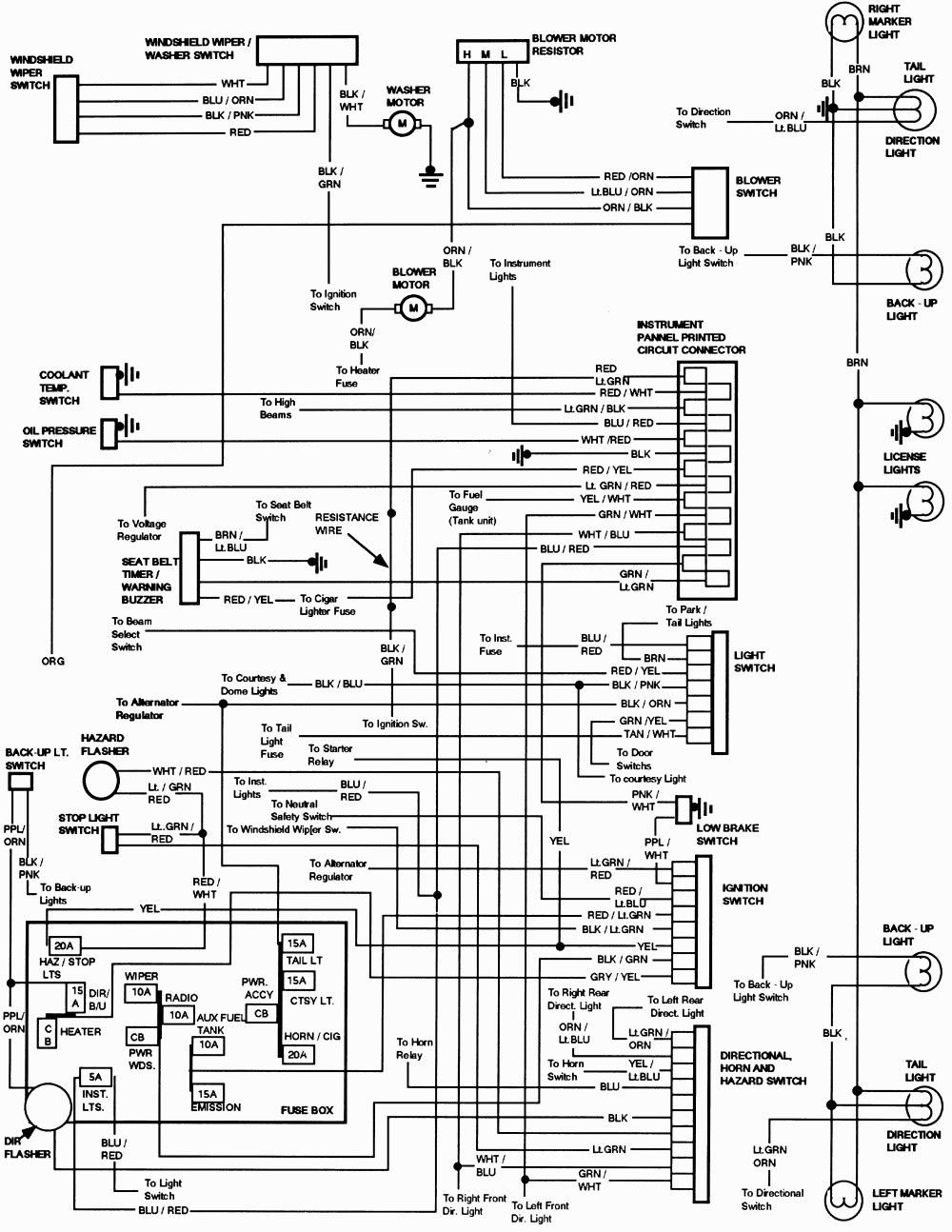 1985 mazda pickup vacuum diagram wiring schematic
