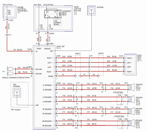 small resolution of 1996 ford mustang radio wiring diagram 2001 mustang stereo wiring diagram 2003 mustang radio wiring jaguar radio wiring diagram collection