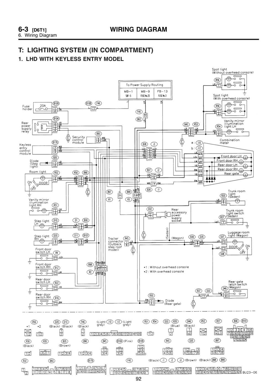 medium resolution of 1997 subaru legacy stereo wiring diagram