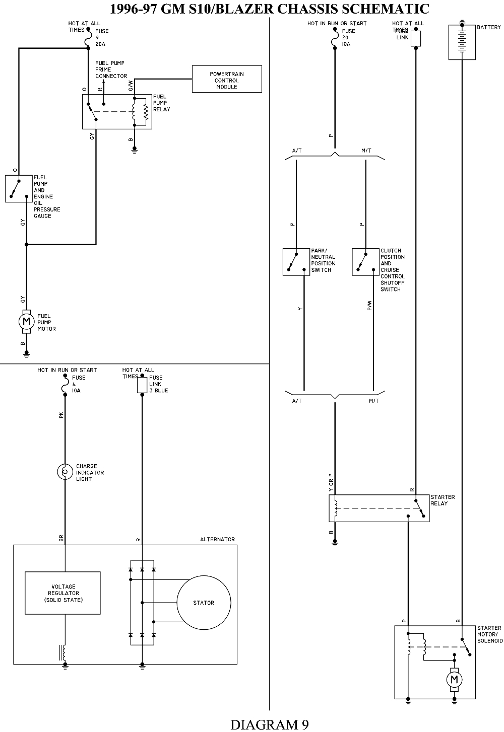 hight resolution of 1998 chevy s10 fuel pump wiring diagram