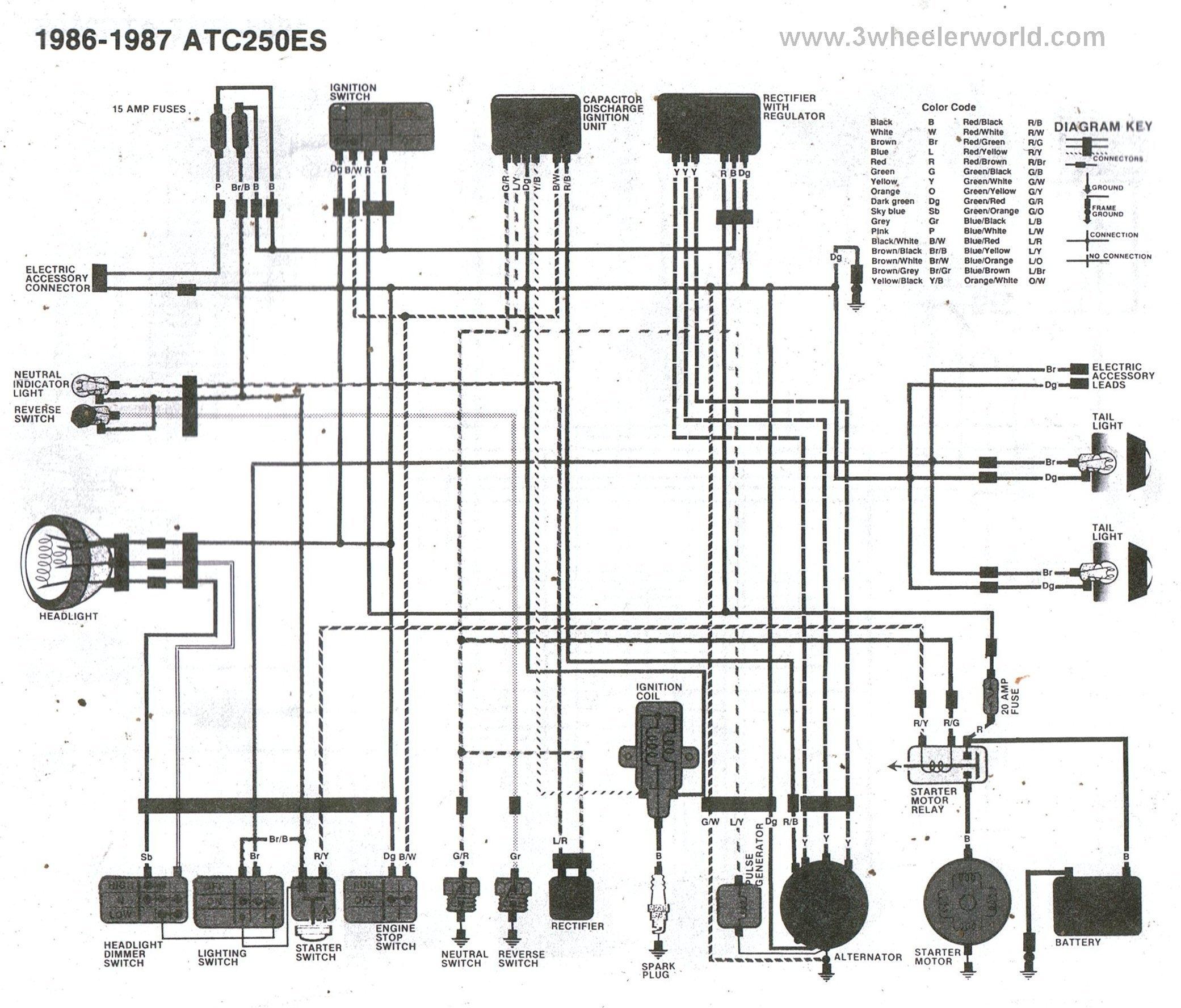 [DIAGRAM] 99 Honda Fourtrax 300 Wiring Diagram FULL