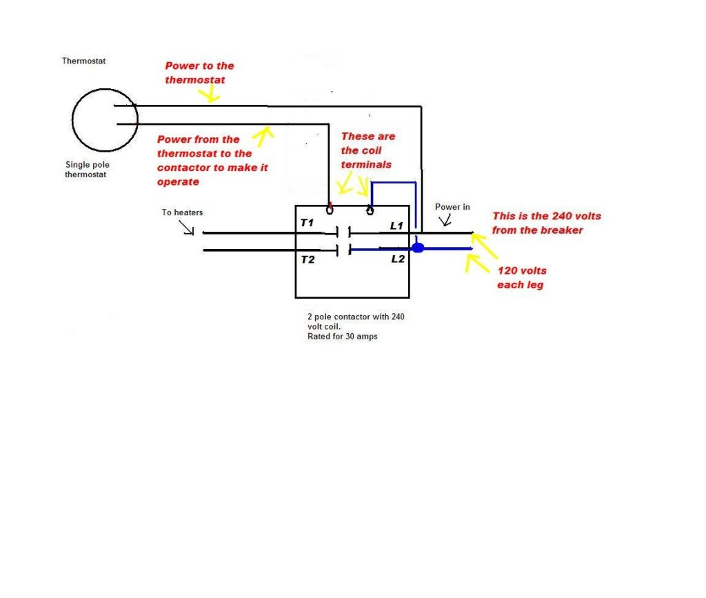 hight resolution of 2 pole contactor wiring diagram 2 pole contactor wiring diagram 6 inside 4 240 volt