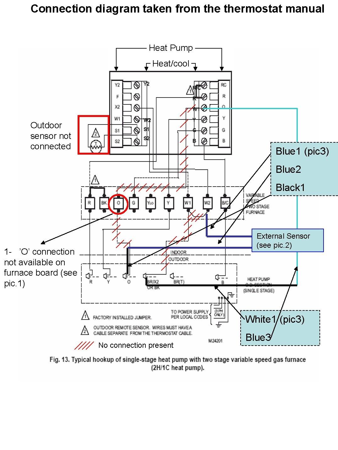 Goodman Furnace Thermostat Wiring Diagram
