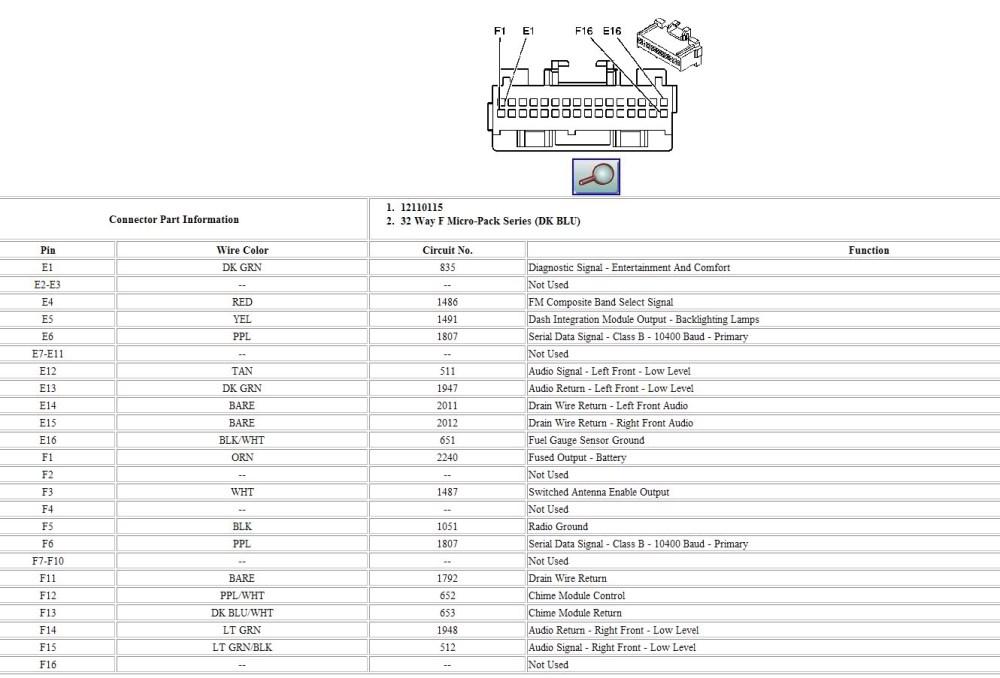 medium resolution of 2000 cadillac deville radio wiring diagram