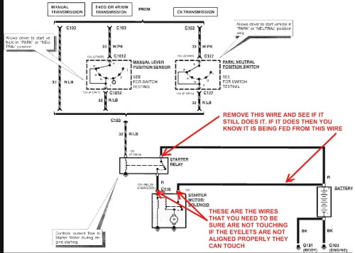 small resolution of 2000 ford f150 starter solenoid wiring diagram free