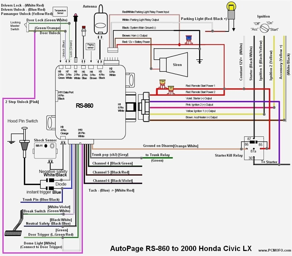 medium resolution of 1999 honda radio wiring free download wiring diagram centre 2000 honda civic wiring adapter diagram