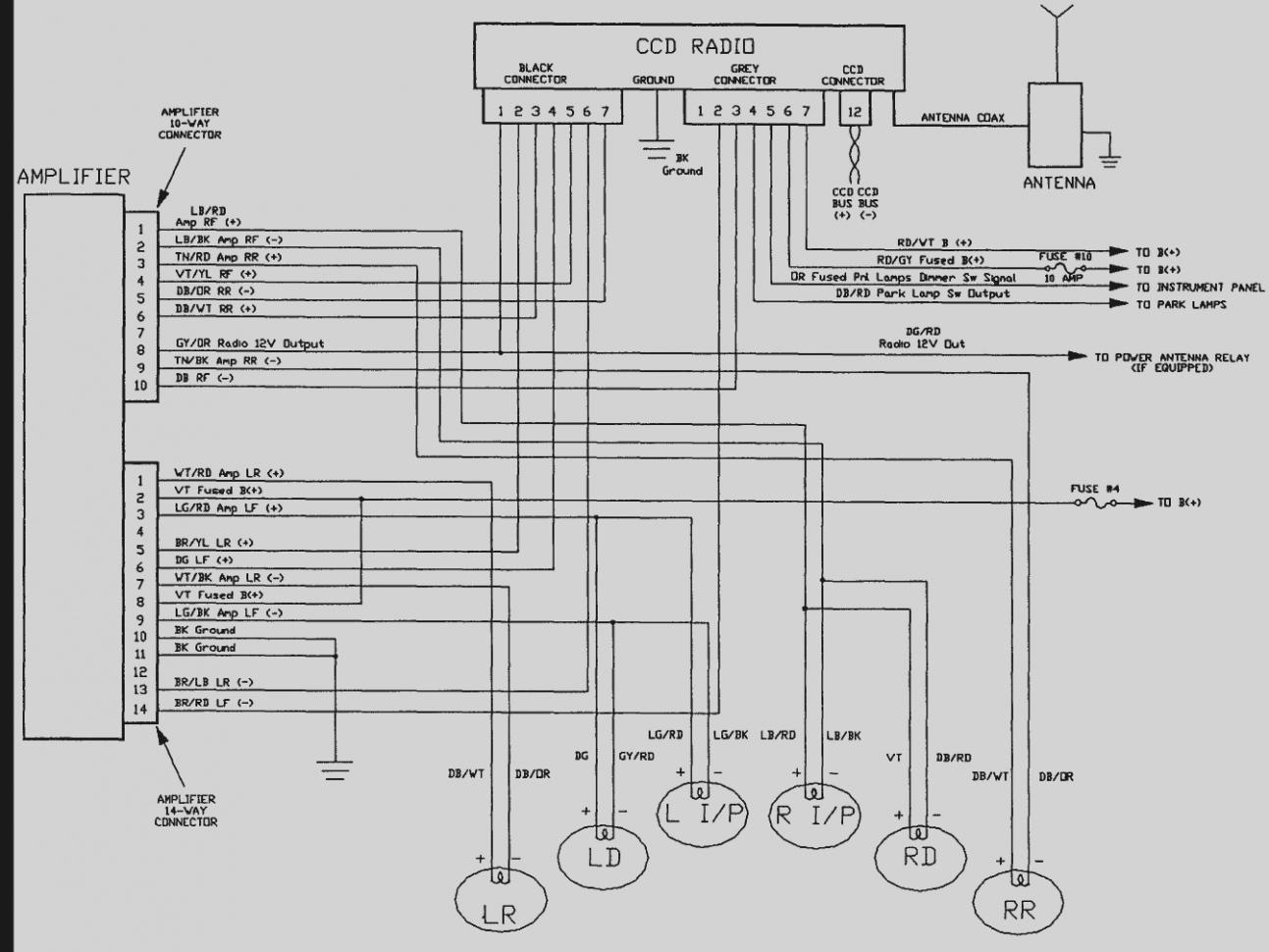 Jeep Grand Cherokee Radio Wiring Diagram
