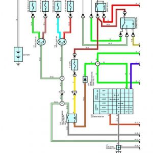 toyota 4runner trailer wiring diagram 2005 chevy trailblazer stereo 2000 free tail light rh ingredican