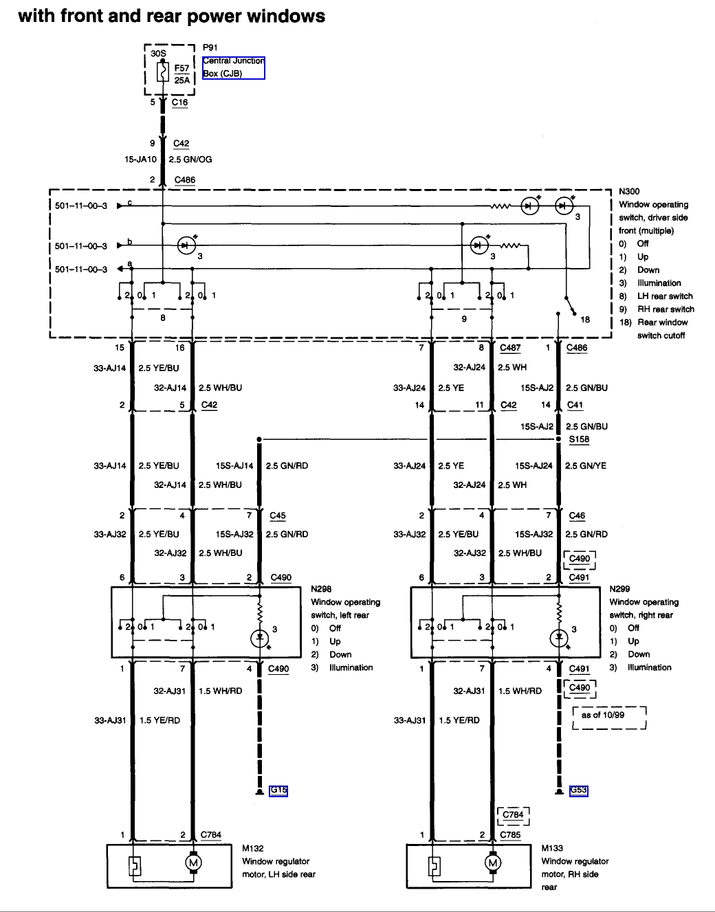 hight resolution of 2001 ford focus wiring diagram 2001 ford focus wiring diagram download power window wiring diagram ford f150