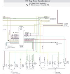 factory stereo wire diagram 2001 jeep grand cherokee laredo [ 1499 x 1600 Pixel ]