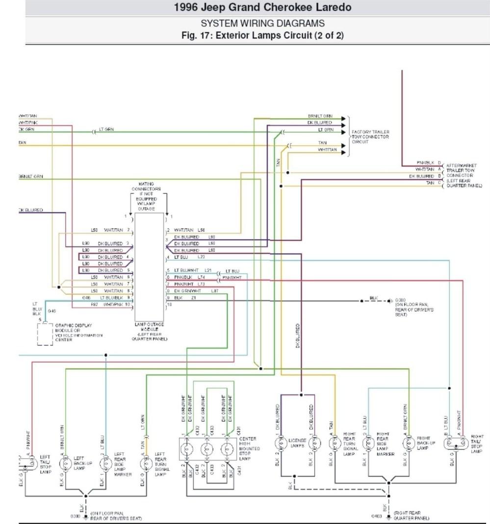 medium resolution of factory stereo wire diagram 2001 jeep grand cherokee laredo