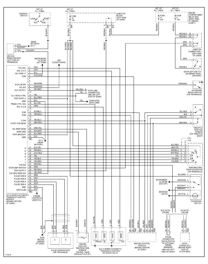 Mitsubishi Lancer Ignition Switch Wiring Diagram