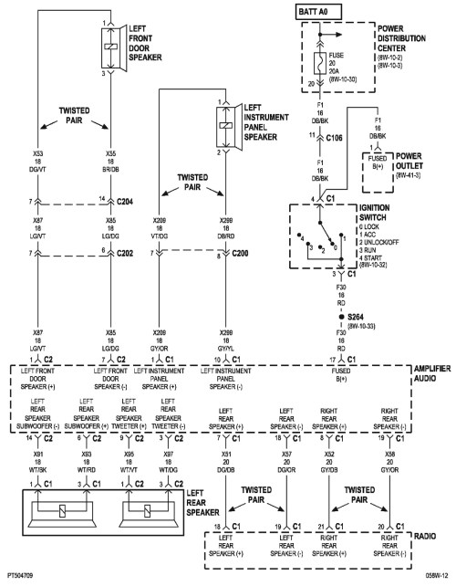 small resolution of 2001 pt cruiser wiring diagram