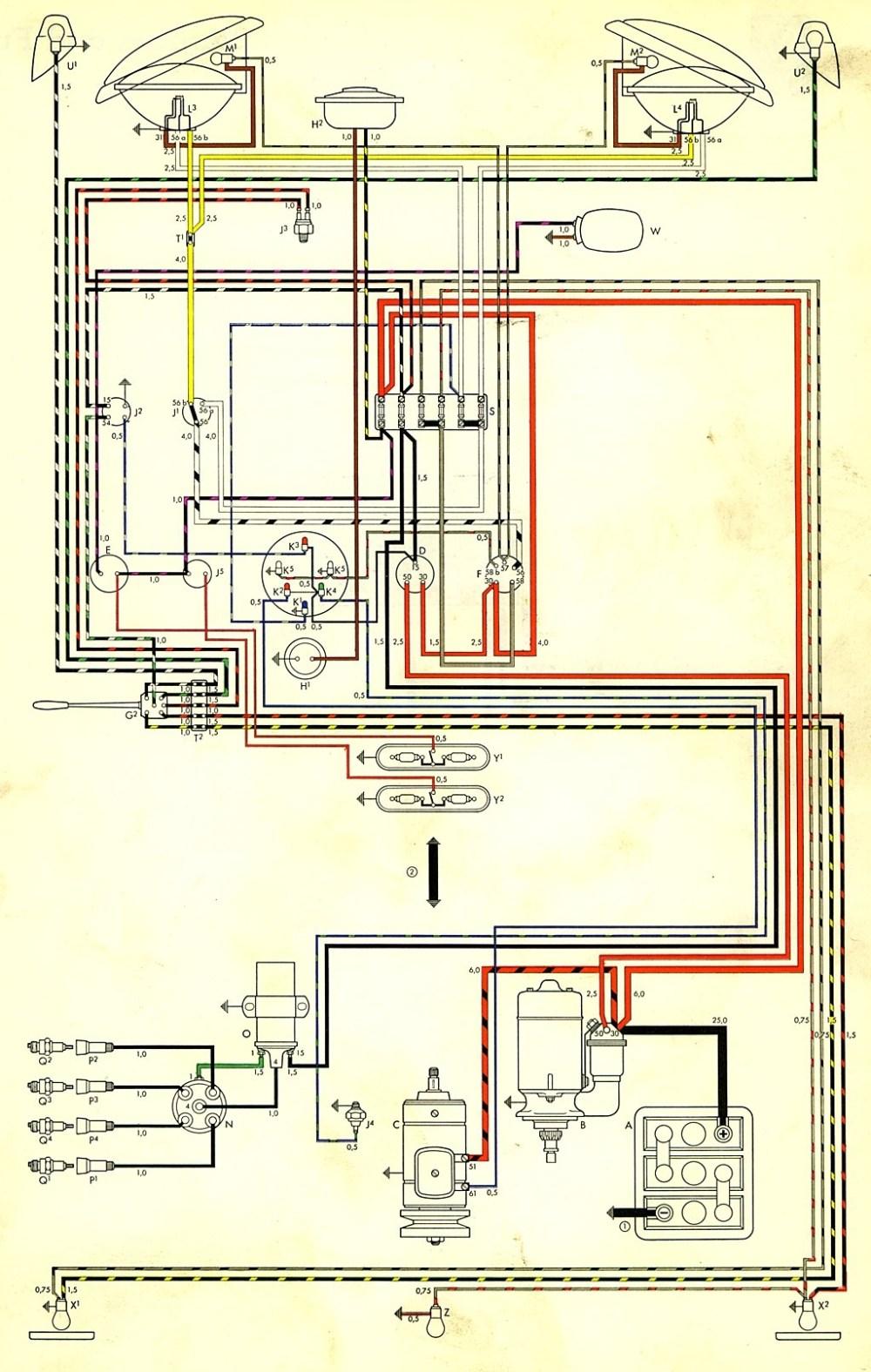 medium resolution of 2001 vw beetle wiring diagram