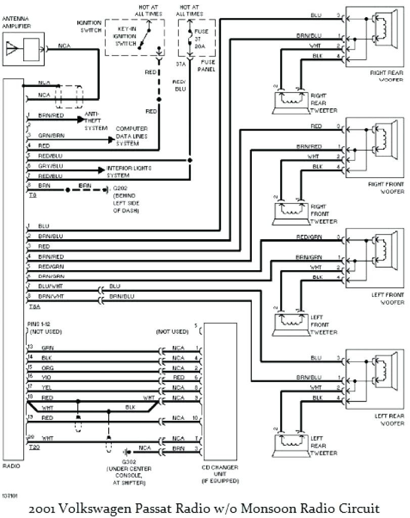hight resolution of 2001 vw jetta radio wiring diagram 1999 vw passat stereo wiring colors wire center u2022