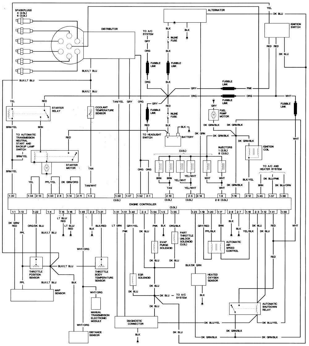 Engine Electrical Diagram - Wiring Diagram & Schemas