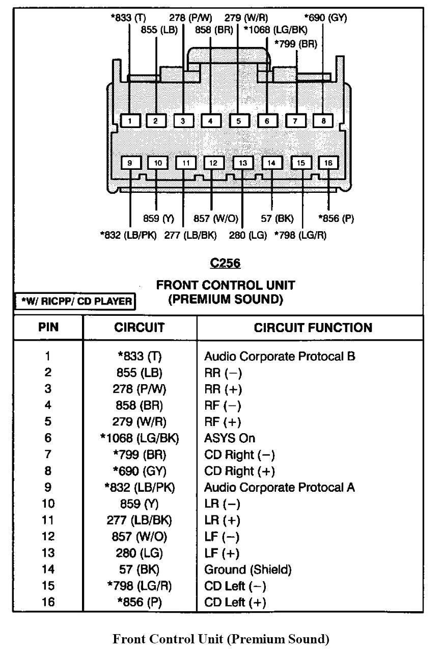 1998 audi a4 radio wiring diagram