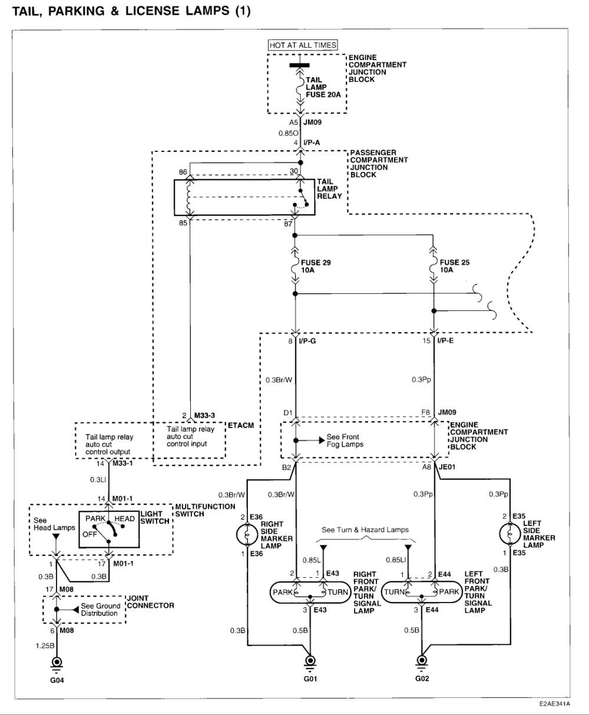 medium resolution of 2003 hyundai sonata radio wiring diagram