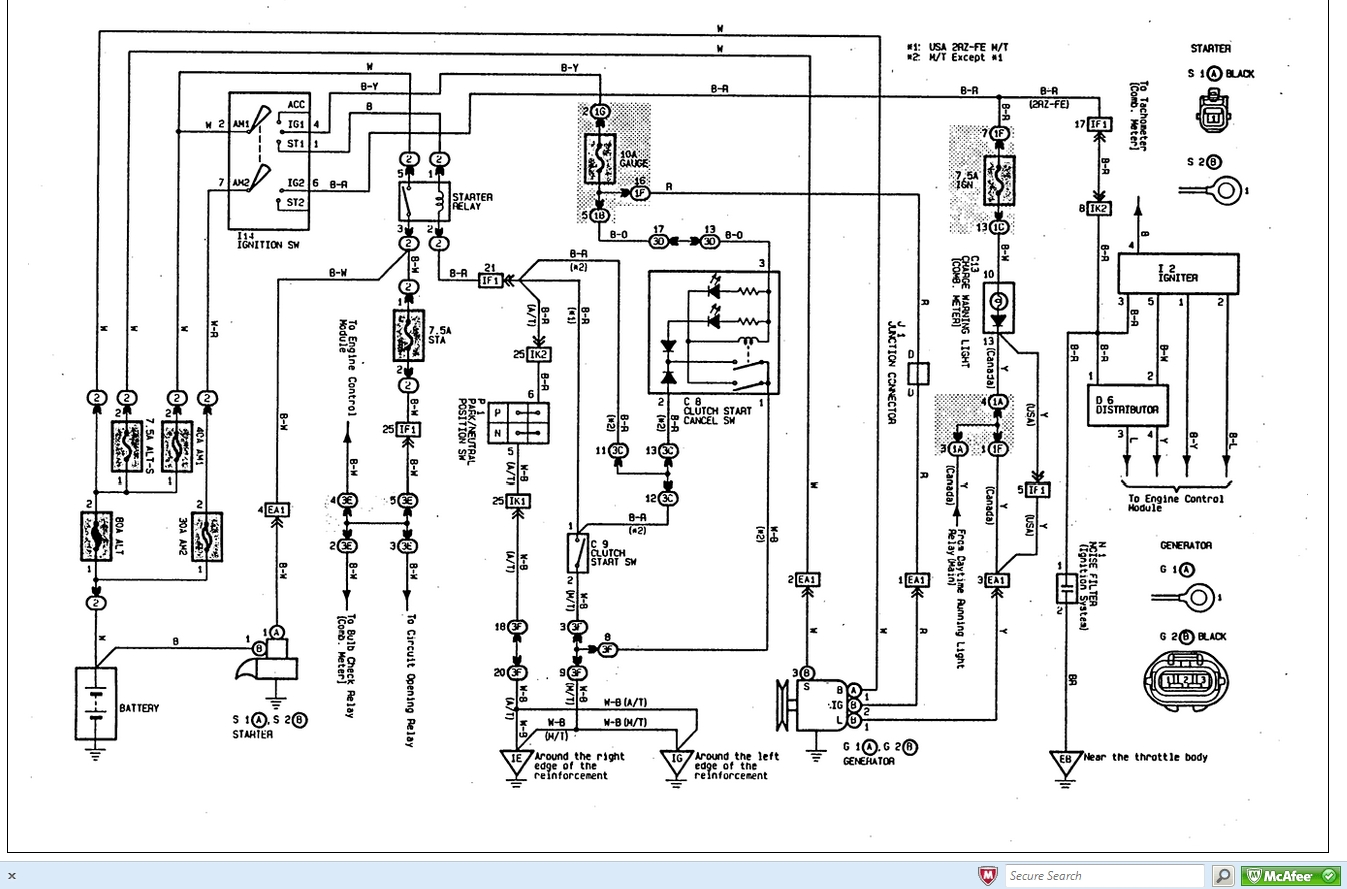 30 Toyota Matrix Wiring Diagram