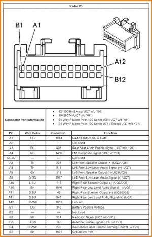 2004 Chevy Malibu Radio Wiring Diagram | Free Wiring Diagram