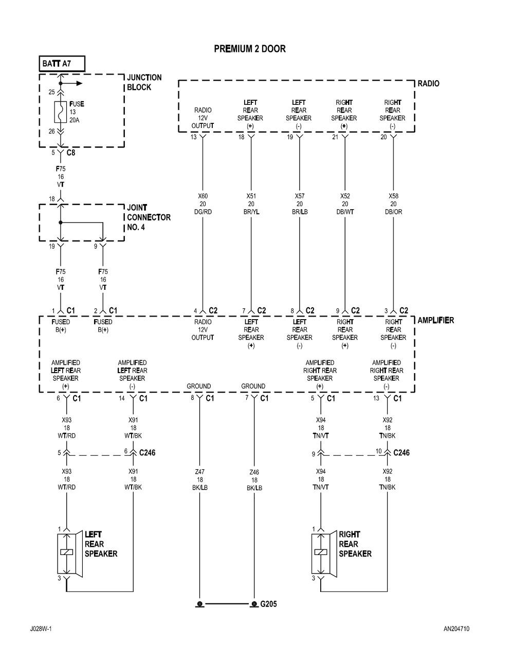 medium resolution of 2004 dodge dakota radio wiring diagram free wiring diagram2004 dodge dakota radio wiring diagram