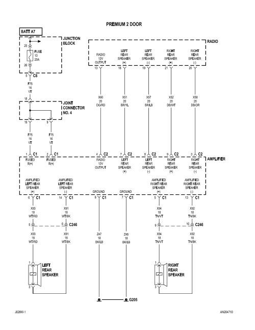 small resolution of 2004 dodge dakota radio wiring diagram free wiring diagram2004 dodge dakota radio wiring diagram