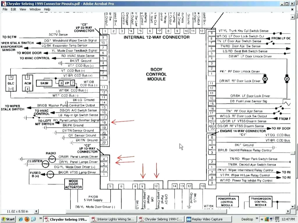hight resolution of 2005 chrysler sebring radio wiring diagram 2005 chrysler 300 car stereo wiring diagram civic radio