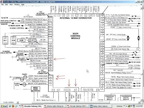 small resolution of 2005 chrysler sebring radio wiring diagram 2005 chrysler 300 car stereo wiring diagram civic radio