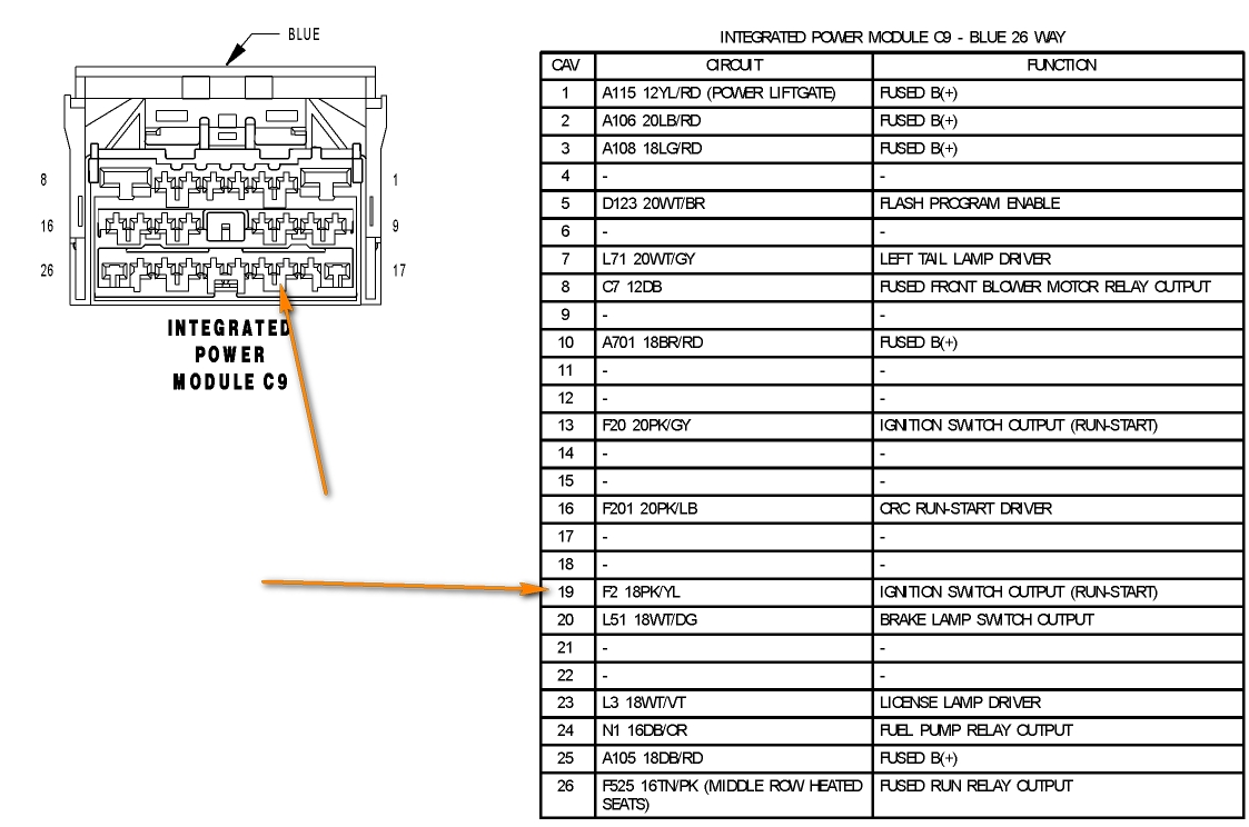Chrysler Infinity Stereo Wiring Diagram