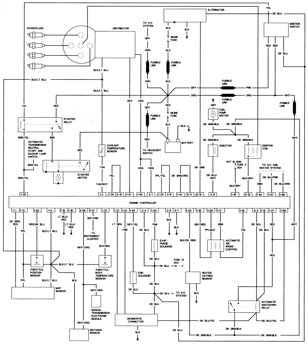 dodge radio wiring schematic