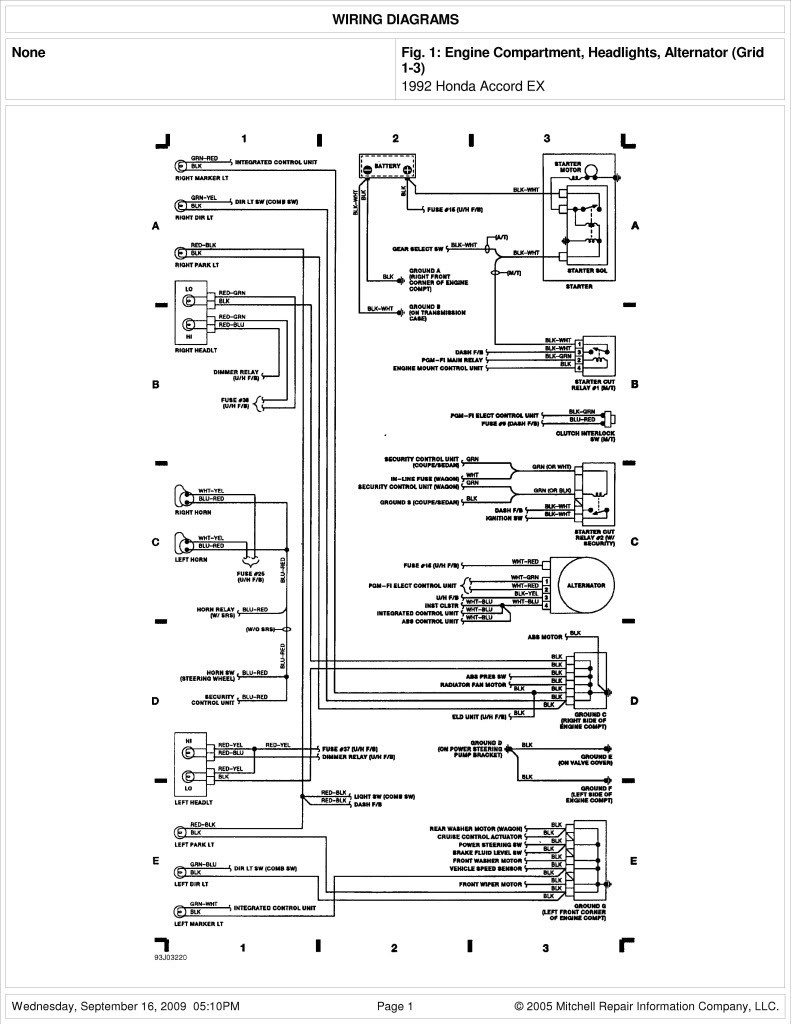 hight resolution of 09 honda cr v wiring diagram