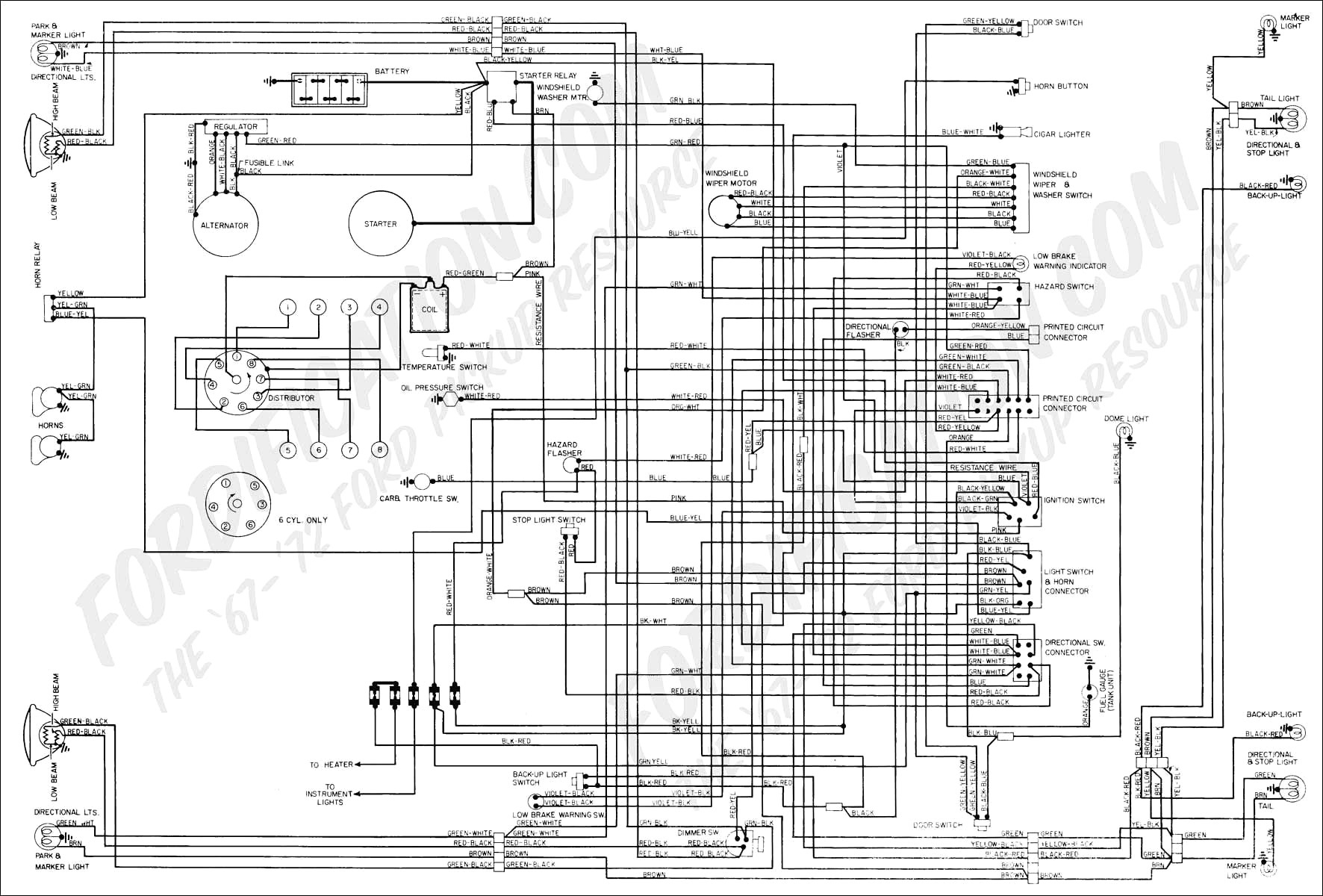 f250 wiring diagrams wiring diagram expert 1975 Ford F-250 Wiring Diagram