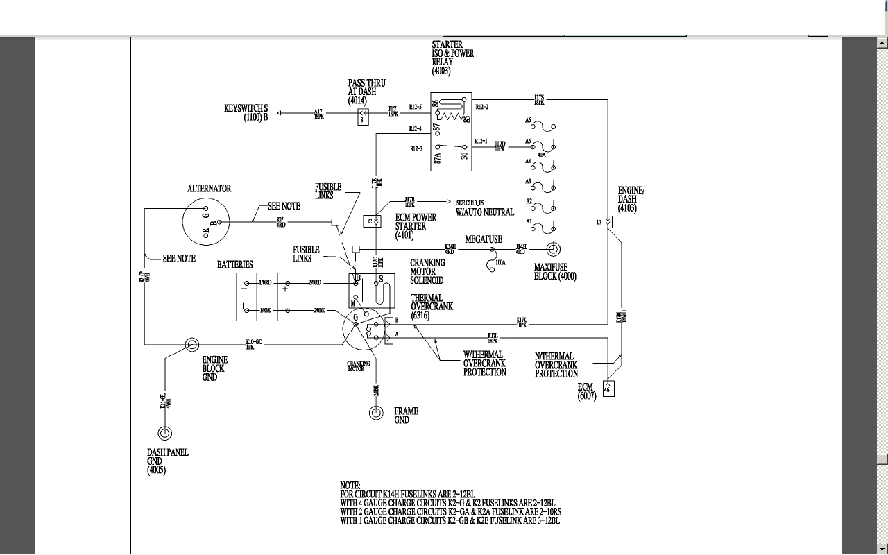 International Dt466e Ecm Wiring Diagram