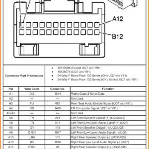 2007 Chevy Silverado Radio Wiring Harness Diagram | Free