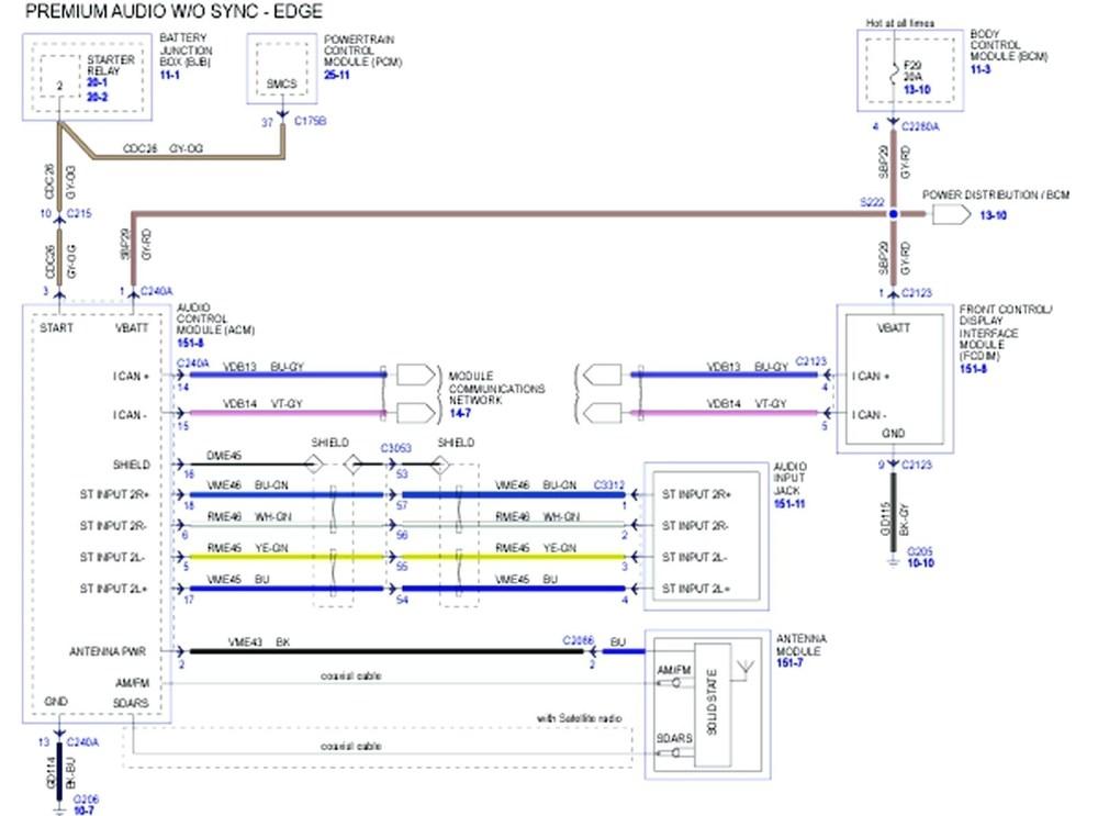 medium resolution of 2007 ford fusion radio wiring diagram
