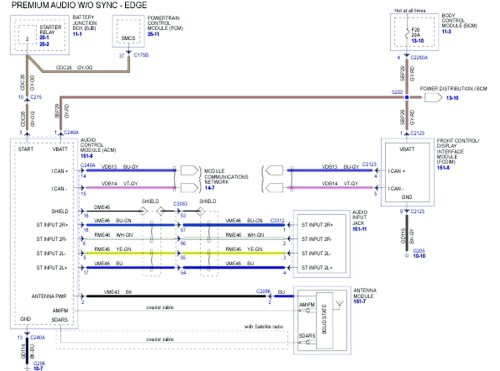 small resolution of 2007 ford fusion radio wiring diagram