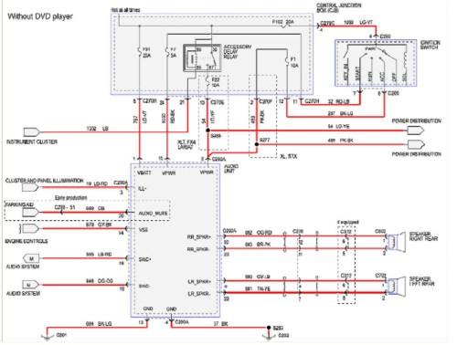 small resolution of 2008 ford f250 radio wiring diagram 2008 ford f250 wiring diagram 11i