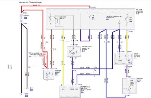 small resolution of 2009 ford escape wiring diagram