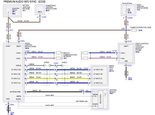 small resolution of 2011 ford escape radio wiring diagram 2011 ford escape radio wiring diagram ford edge radio