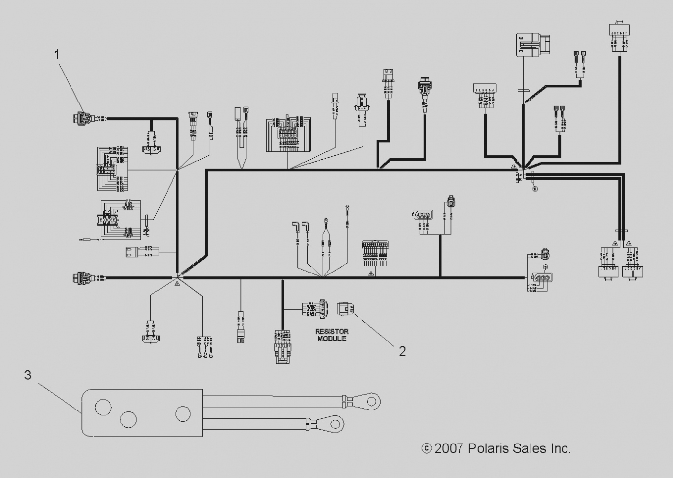 2011 Polaris Ranger Wiring Diagram. Parts. Wiring Diagram