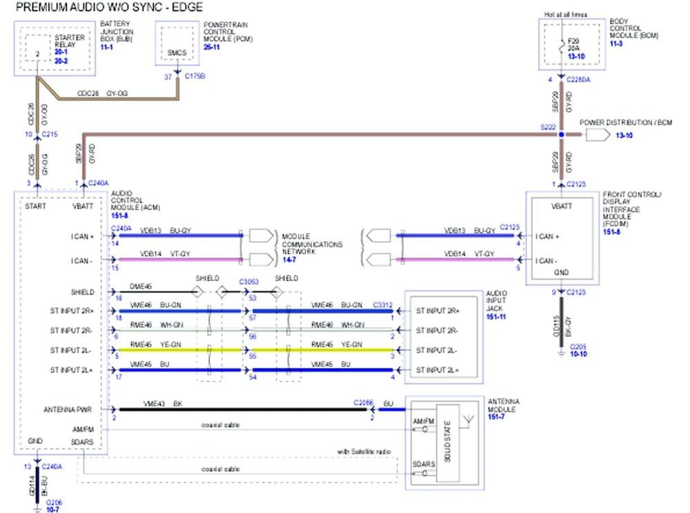 medium resolution of 2016 ford fusion radio wiring diagram 2007 ford fusion radio wiring diagram wire center u2022
