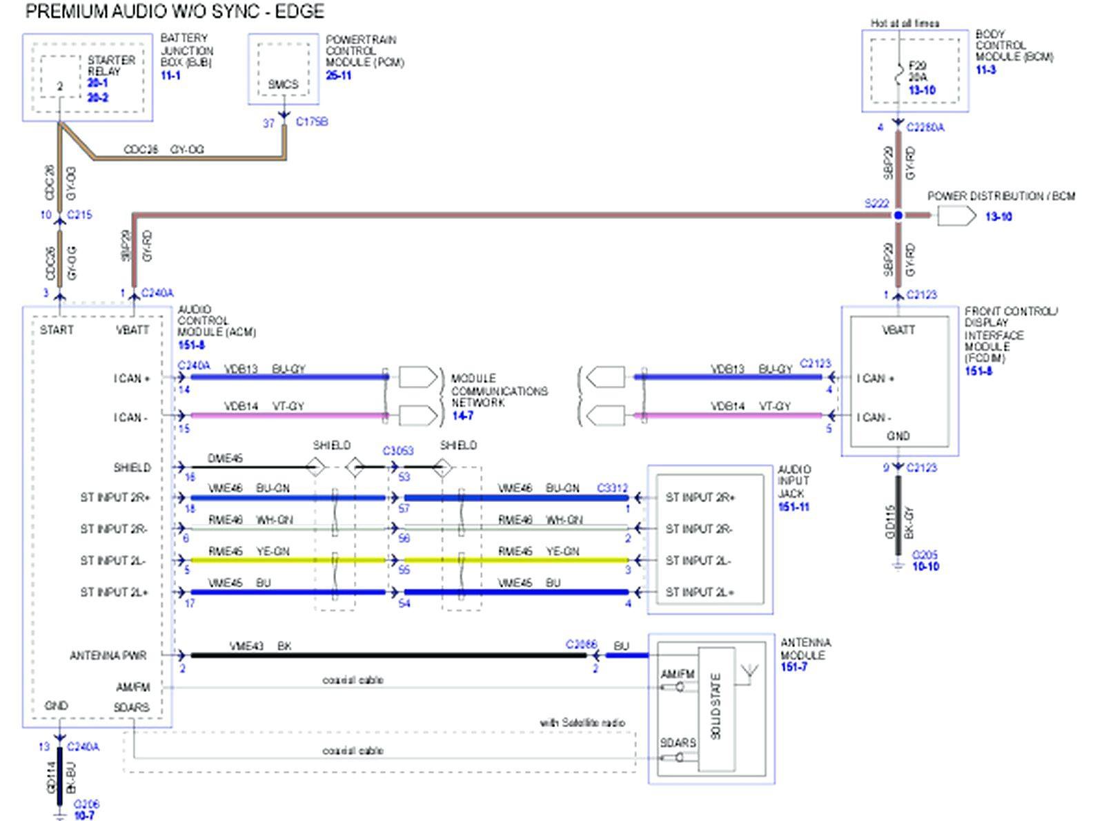 hight resolution of 2016 ford fusion radio wiring diagram 2007 ford fusion radio wiring diagram wire center u2022