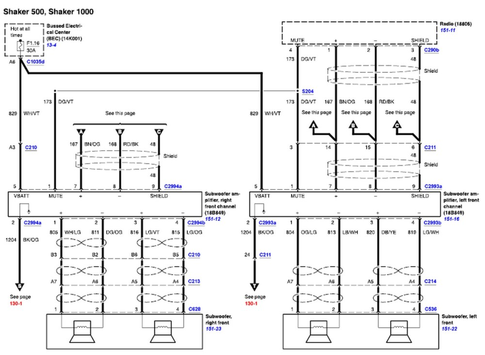 medium resolution of 2016 ford fusion wiring diagram