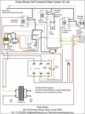 220 Volt Air Conditioner Wiring Diagram | Free Wiring Diagram