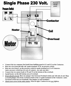240v Motor Wiring Diagram Single Phase | Free Wiring Diagram