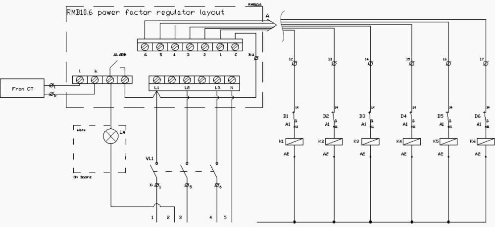 medium resolution of 3 phase capacitor bank wiring diagram